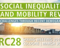 Two EXCEPT papers presented at ISA RC28 conference in Cologne